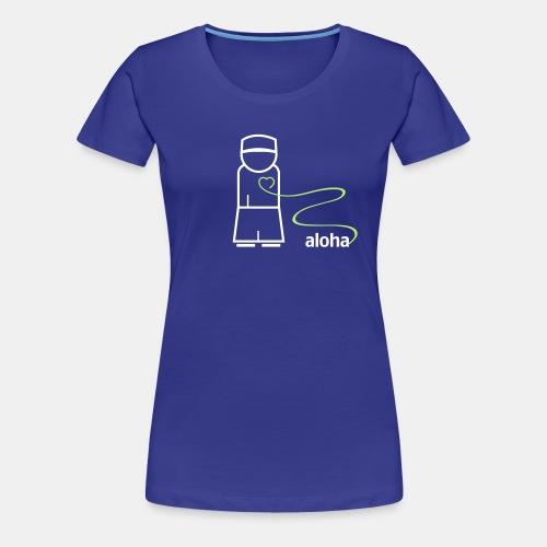 aloha logo cs2 - Frauen Premium T-Shirt