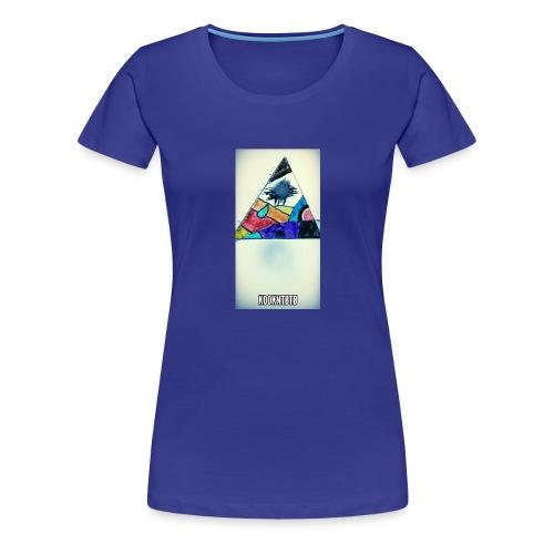 triangle logo spirit - T-shirt Premium Femme