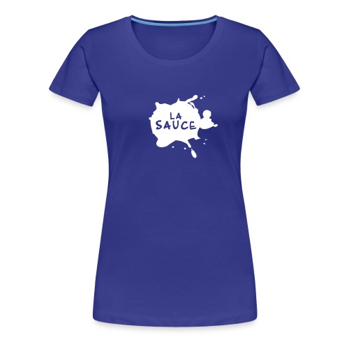 lasaucelogo blk - T-shirt Premium Femme