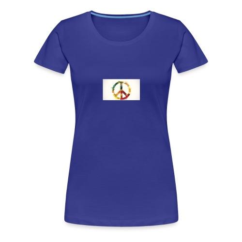 peace mok - Vrouwen Premium T-shirt