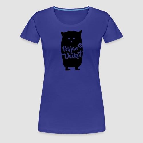 Veikko-pöllö - Naisten premium t-paita