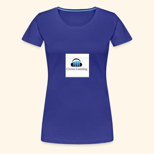 Crova Gaming Merch - Women's Premium T-Shirt
