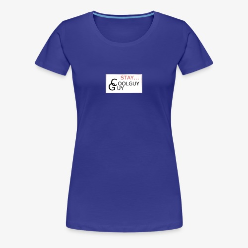 Bro Stay Cool - Vrouwen Premium T-shirt