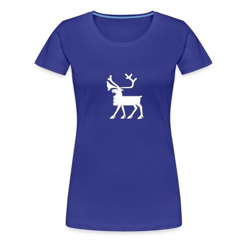 geokx_1c_tromso - Premium T-skjorte for kvinner