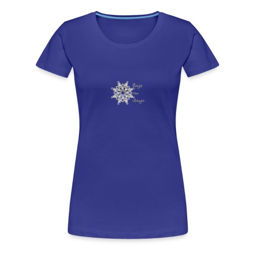 Mandala things can change - Frauen Premium T-Shirt