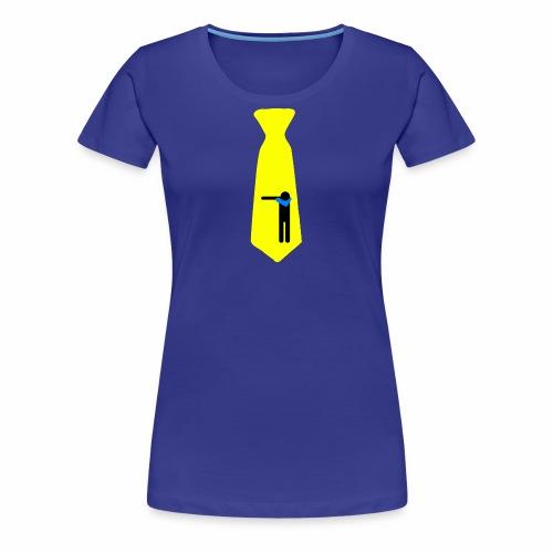 Dab Cravatta Gangsta Yellow - Maglietta Premium da donna