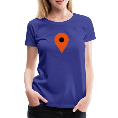 iamhere v02 - Women's Premium T-Shirt