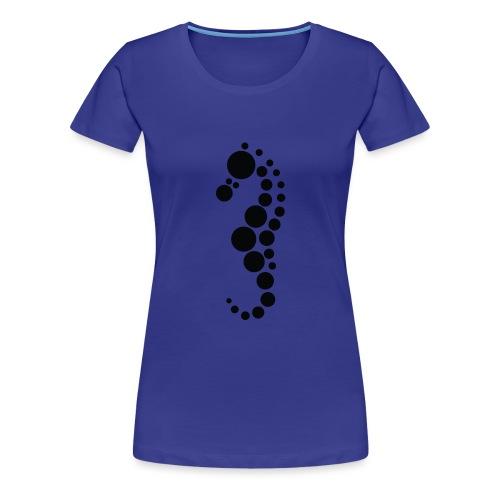 merihevonen - Naisten premium t-paita