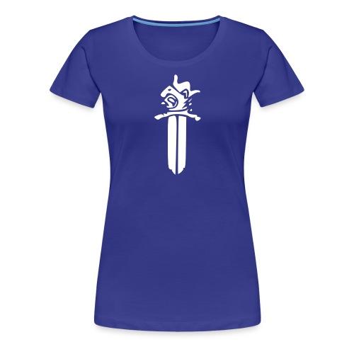 Sotilaspoliisi - valkoinen - Naisten premium t-paita