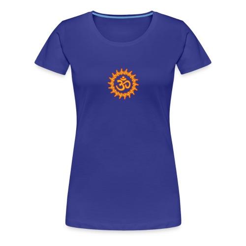 om, ohm, omm, om namah shivaya, ॐ, aum - Frauen Premium T-Shirt