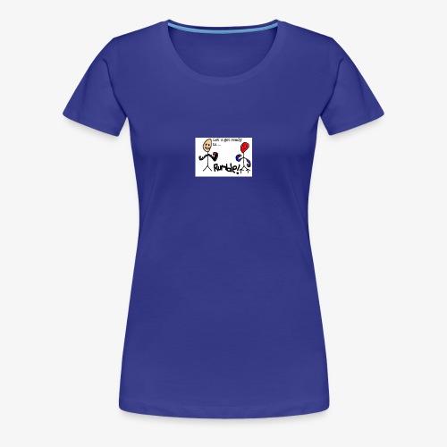 Let`s get ready to rumble! logo - Premium T-skjorte for kvinner