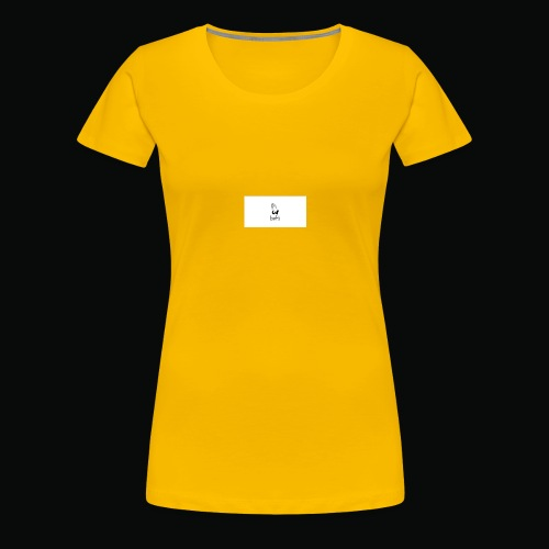 bafti hoodie - Dame premium T-shirt