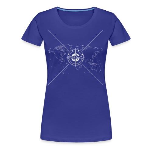 Black Swell Original Weiss - Frauen Premium T-Shirt