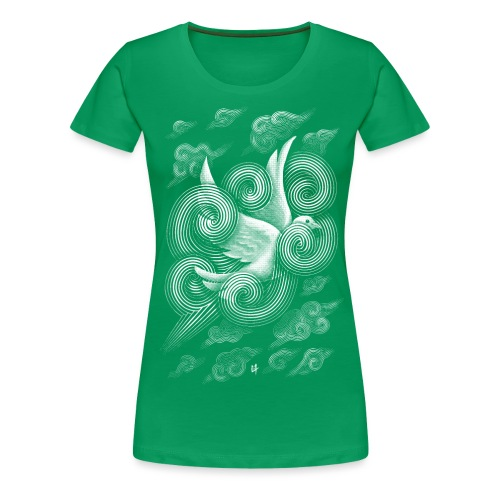 Crossing Clouds - Women's Premium T-Shirt