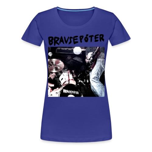 bplivefoto tshirt schwarz - Frauen Premium T-Shirt