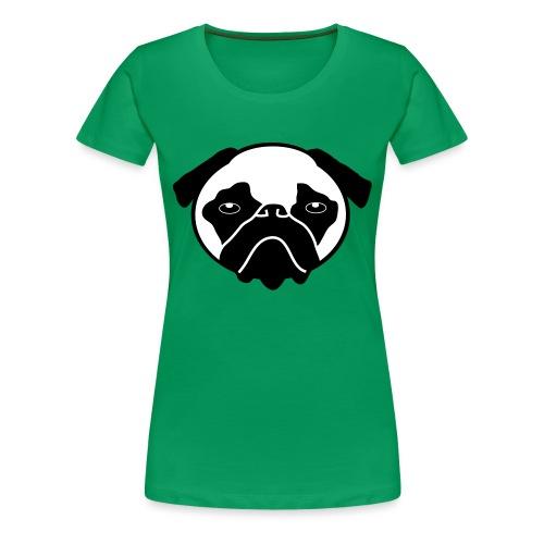 Mops, Hund - Frauen Premium T-Shirt