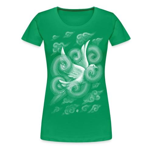 Crossing Clouds - Women's Premium T-Shirt