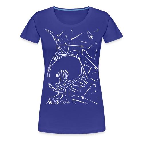 AMHE IDF 2014 Lys invers - T-shirt Premium Femme