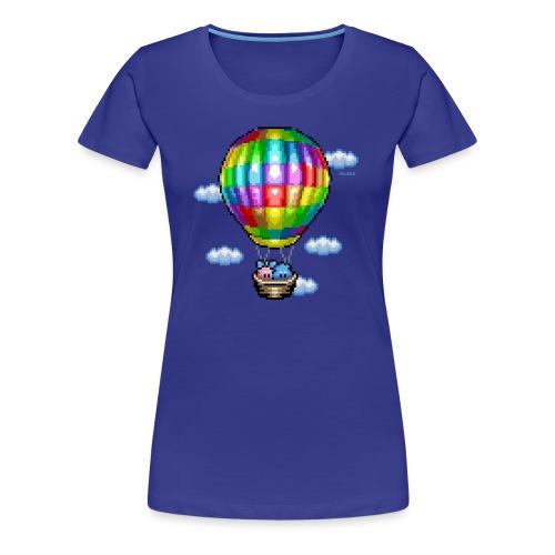Heißluftballon - Frauen Premium T-Shirt
