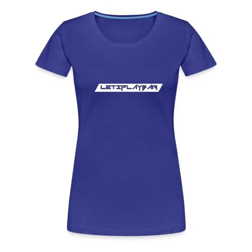 Letsplaybar Merch Weiß - Frauen Premium T-Shirt