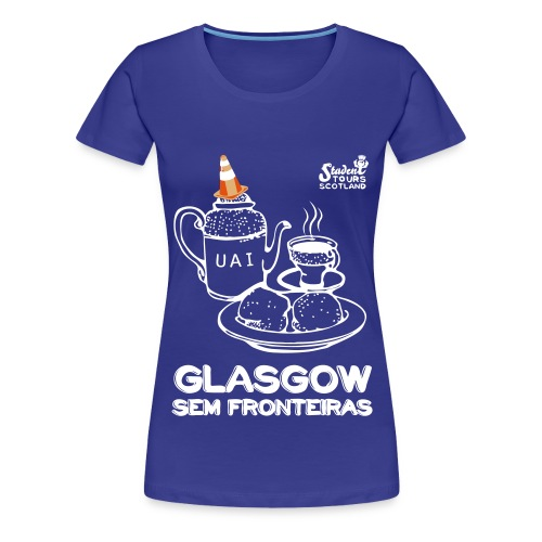 Glasgow Without Borders Brazil Minas Gerais 2 - Women's Premium T-Shirt