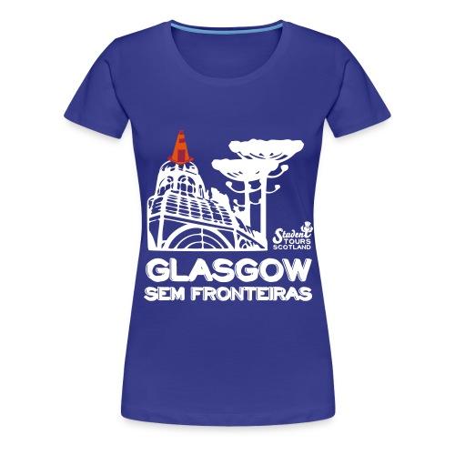 Glasgow Without Borders Brazil Paraná - Women's Premium T-Shirt
