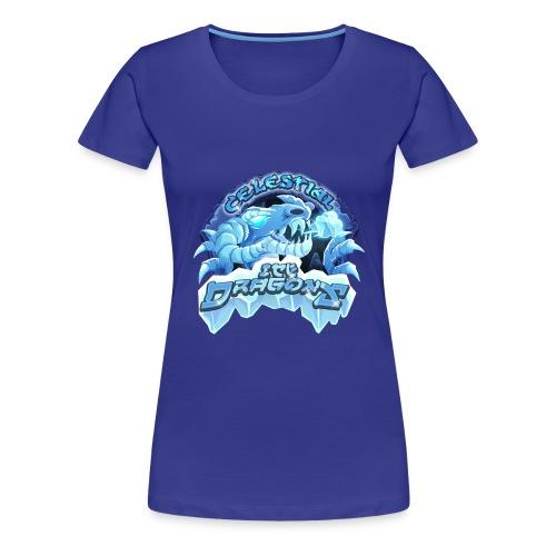 Celestial Ice Dragons - Women's Premium T-Shirt