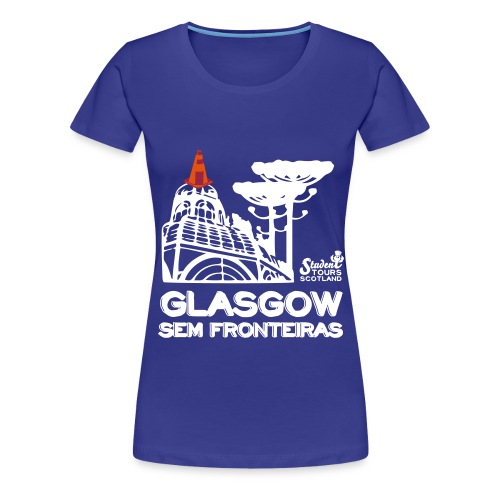 Glasgow Without Borders Brazil Paraná - Women's Premium T-Shirt