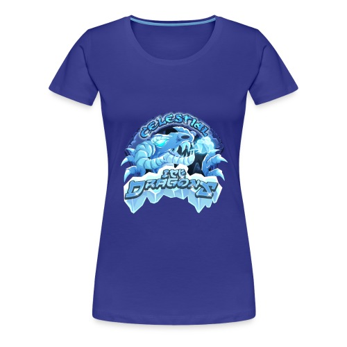 Celestial Ice Dragons - Women's Premium T-Shirt
