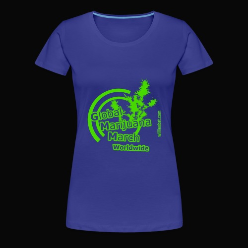 Worldwide - Frauen Premium T-Shirt