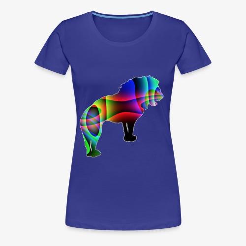 der Löwe hat die Stärke - T-shirt Premium Femme