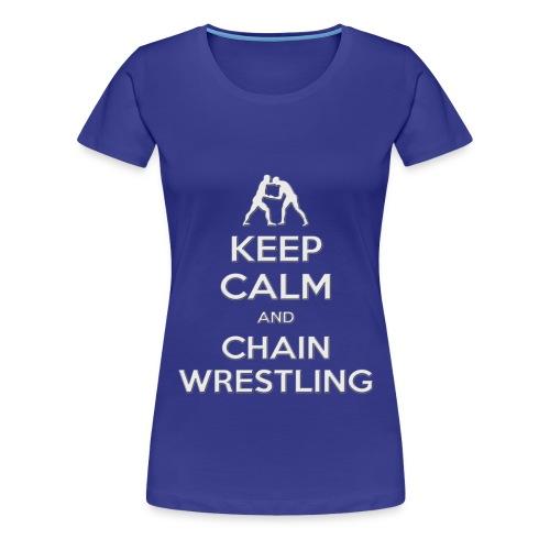 keepcalm chain2 - Maglietta Premium da donna