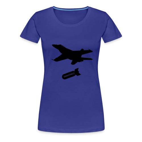 demokracja - Koszulka damska Premium