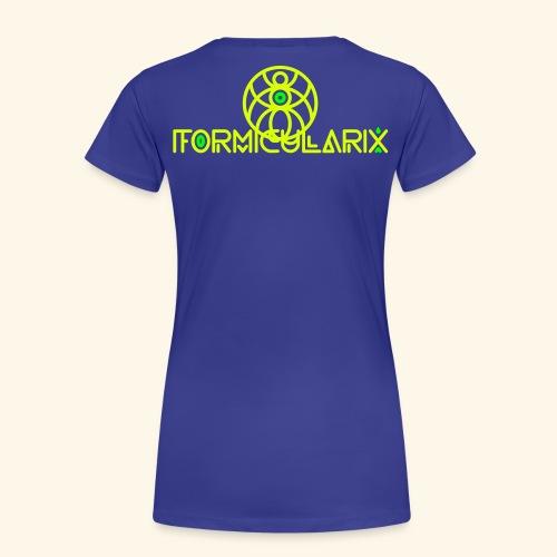 formi 2color - Frauen Premium T-Shirt