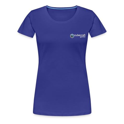 Logo White png - Women's Premium T-Shirt