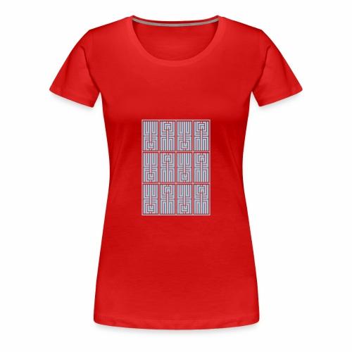 LUFC AZTEC - Women's Premium T-Shirt