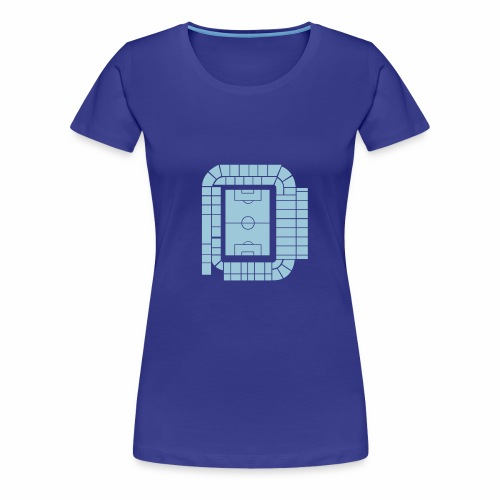 ACTUAL STADIUM PLAN - Women's Premium T-Shirt