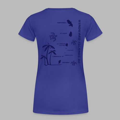 Windwards Karibik - Frauen Premium T-Shirt