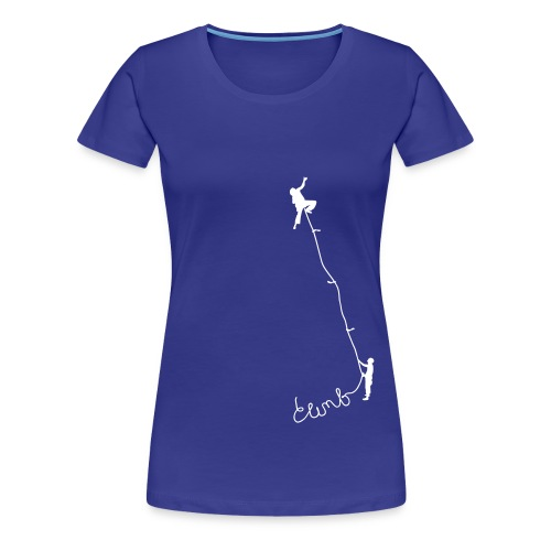 Climbing 1 - Frauen Premium T-Shirt