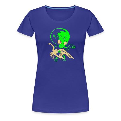 aliens big - Women's Premium T-Shirt
