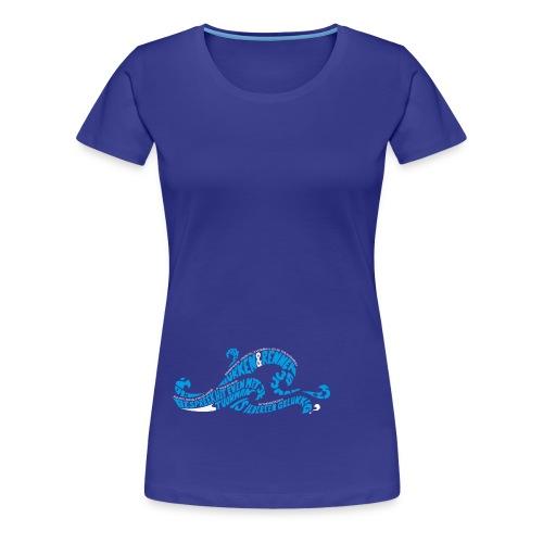 EZS T shirt 2013 Front - Vrouwen Premium T-shirt