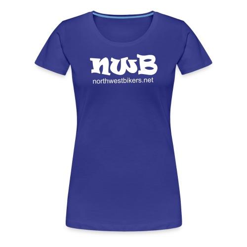 nwb logo3 - Women's Premium T-Shirt