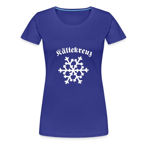 kaeltekreuzbogen - Frauen Premium T-Shirt
