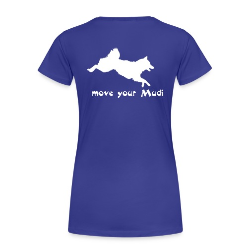 move your mudi - Women's Premium T-Shirt