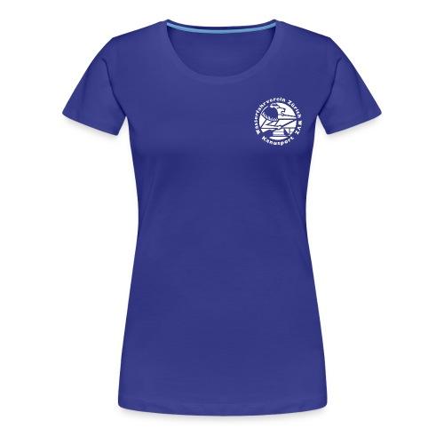 WVZ Rücken neu - Frauen Premium T-Shirt