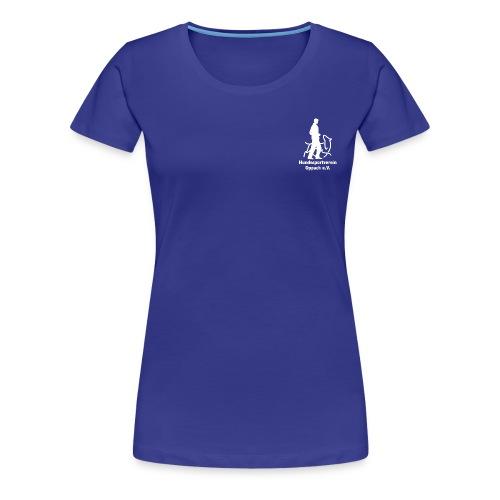 Hund_weiss - Frauen Premium T-Shirt