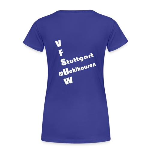 vorne - Frauen Premium T-Shirt