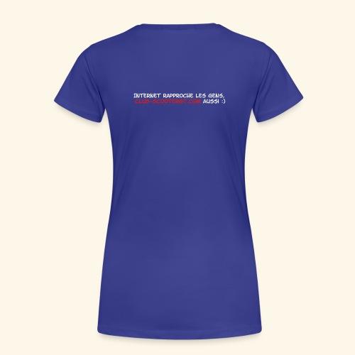 RASSO 2012 BASIC HOMME écriture blanche - T-shirt Premium Femme