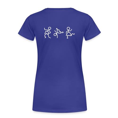 tanzende_maennchen3 - Frauen Premium T-Shirt