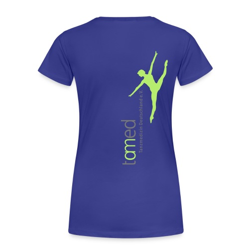tamed mit weiss klein - Frauen Premium T-Shirt